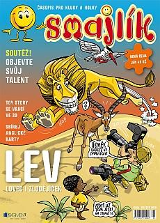 Skvělý časopis smajlík pro všechny správné kluky a holky