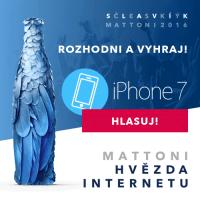 Mattoni - hvězda internetu - hlasuj a vyhraj iPhone 7